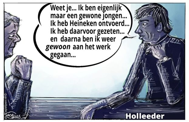 Holleeder cartoon