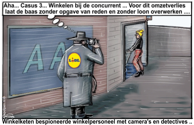cartoon detectives spionage personeel