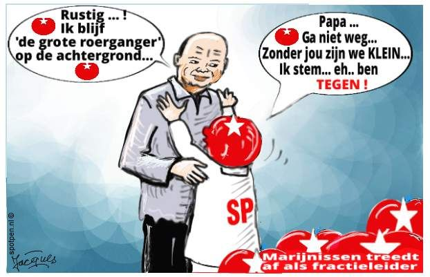 SP Socialistische Partij cartoon