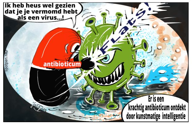 antibiotica cartoon