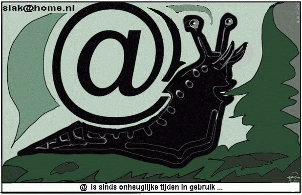 apenstaartje  cartoon  @
