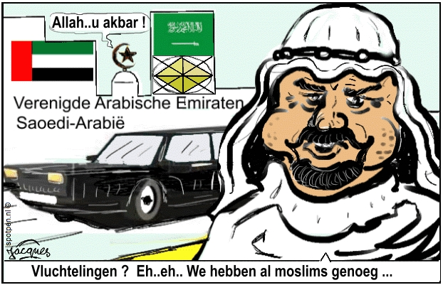 Arabier cartoon