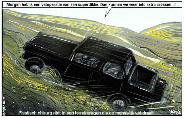 cartoon terreinwagen suv