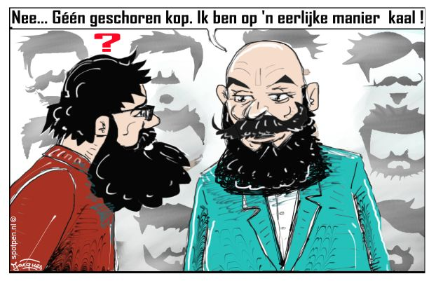 baarden cartoon