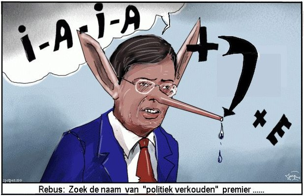 balkenende | cartoon | ezel  pinokkio
