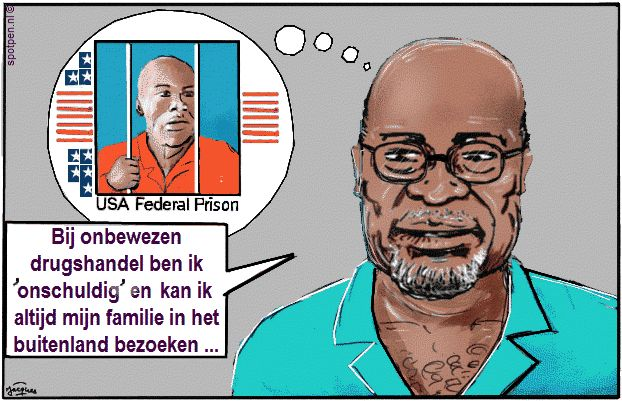 cartoon bouterse
