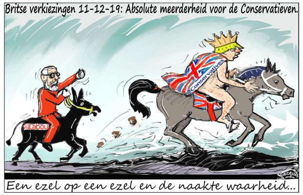 verkiezingen cartoon