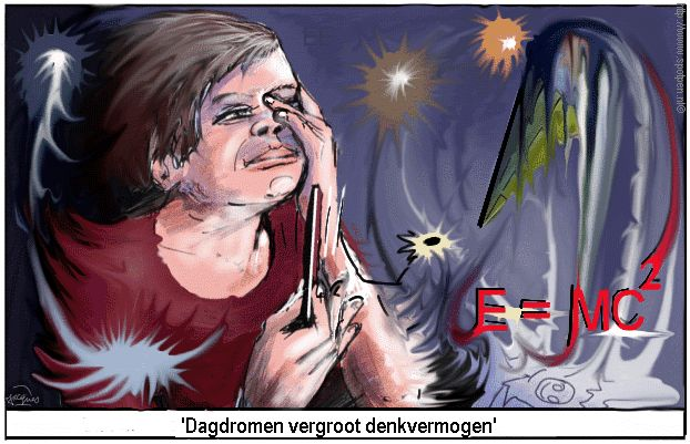 cartoon dagdromen oplossingen