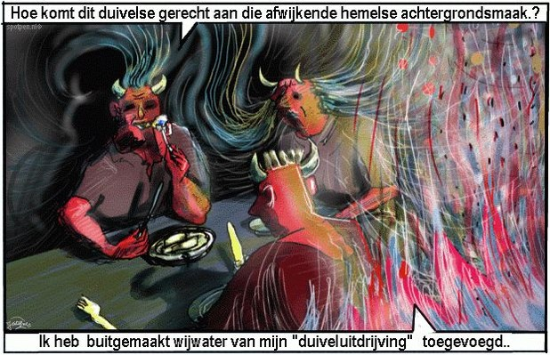 Duivel  catoon satan  cartoon
