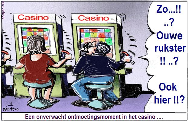 casino cartoon gokken