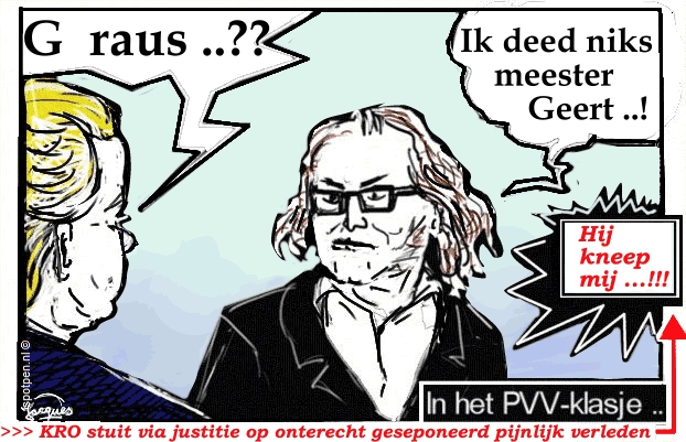 Wilders cartoon  PVV