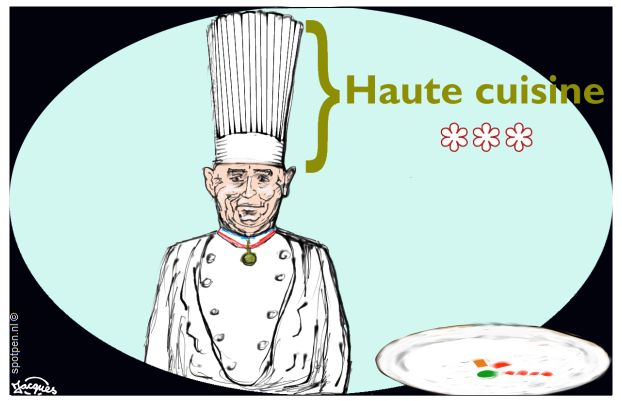 koken cartoon chef kok