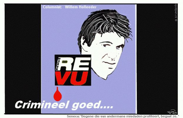 Cartoon Holleeder Willem