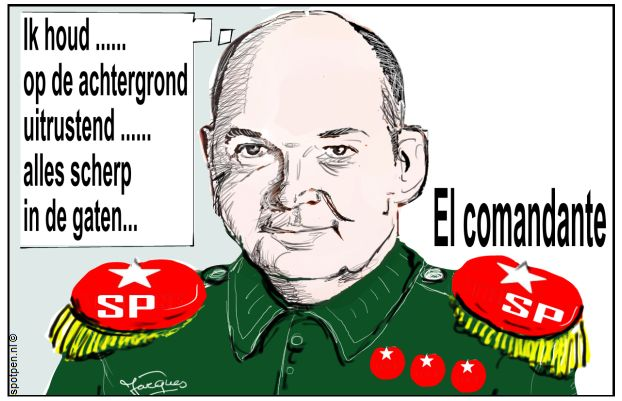 SP - Socialistische Partij - cartoon