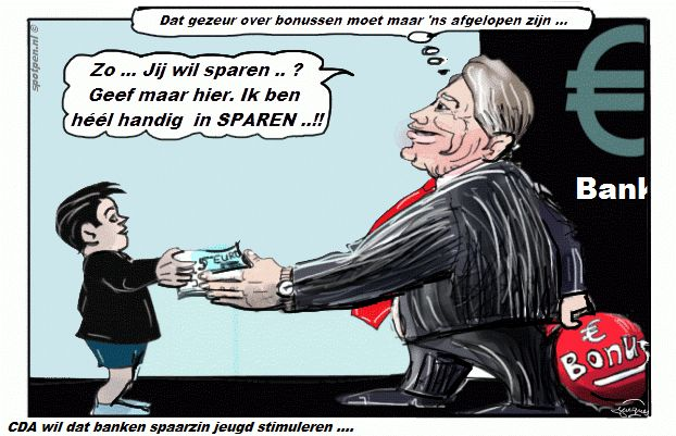 Cartoon  sparen