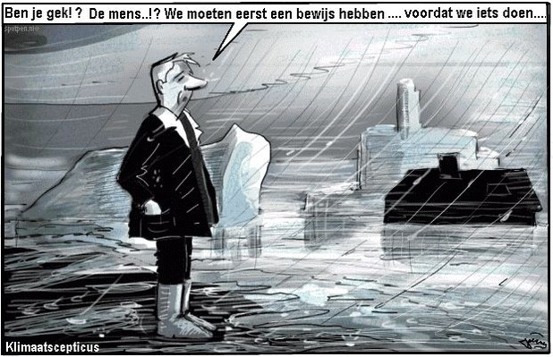 Opwarming aarde cartoon  global warming
