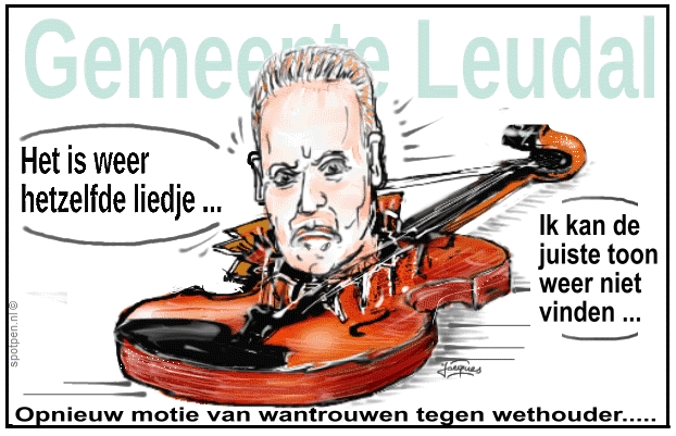 Leudal gemeente   cartoon