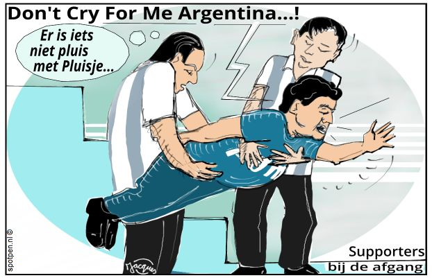 Maradona  Diego cartoon