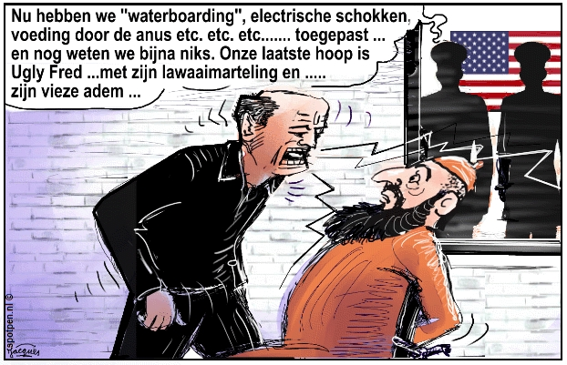 cartoon martelen waterboarding