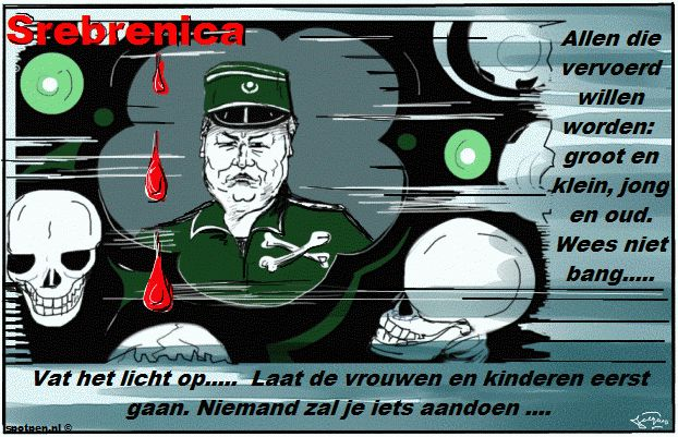 Ratko Mladic cartoon