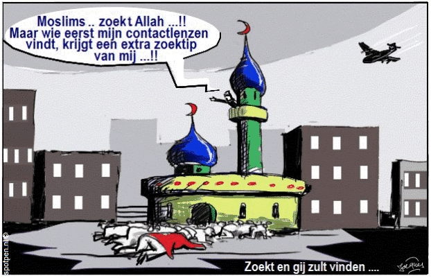 islam cartoon moslims