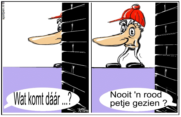 cartoon neus grote