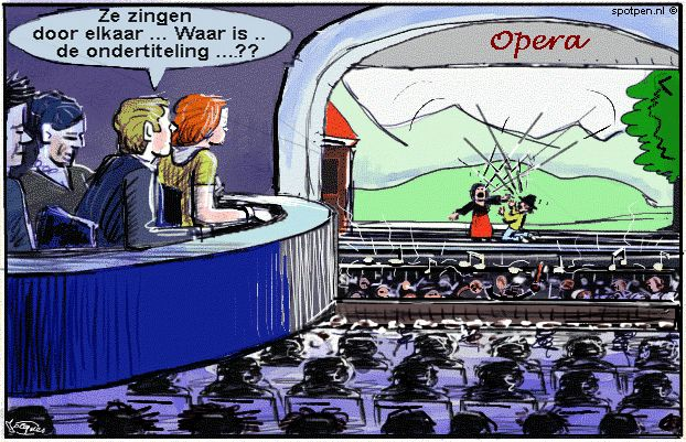 cartoon  opera operette musical muziek theater orkest