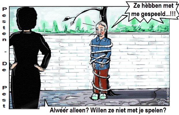 pesten  cartoon  pesters