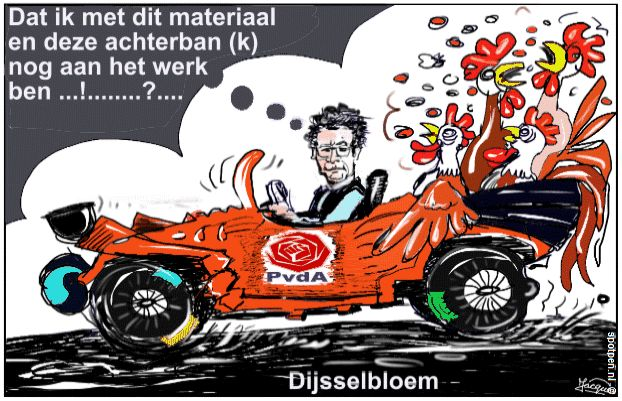 cartoon PvdA