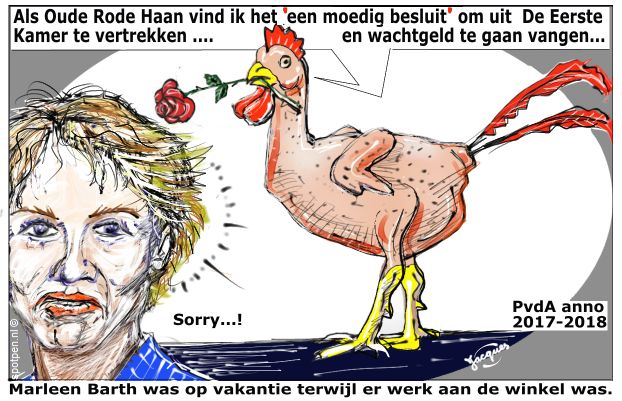 PvdA cartoon socialisme