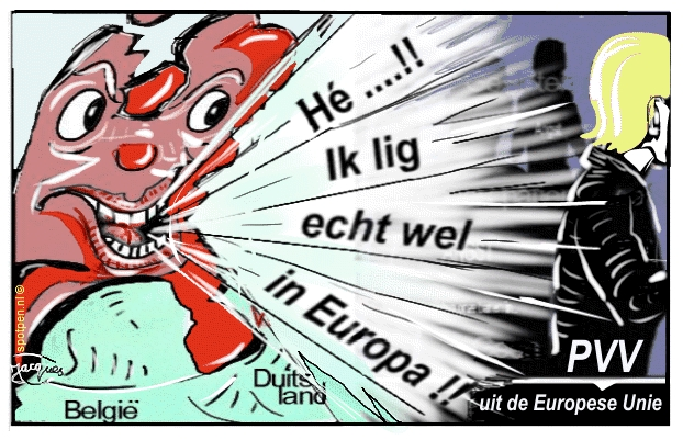 cartoon Eurozone EU Europese Unie
