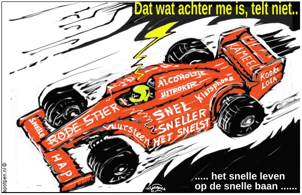 Race auto cartoon  formule 1