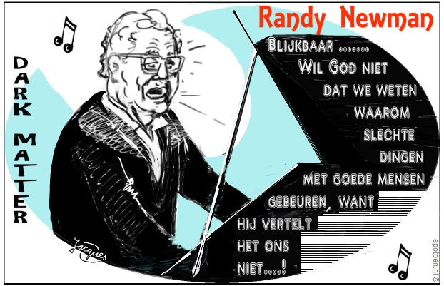 Randy Newman cartoon