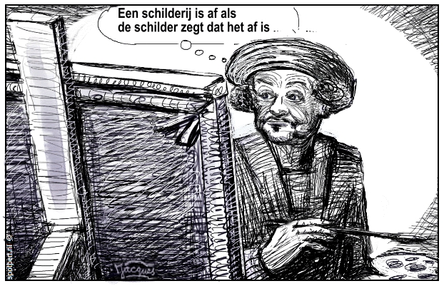 Rembrandt van Rijn cartoon