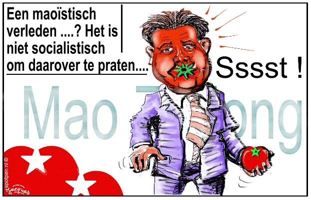 Roemer cartoon SP Socialistische Partij