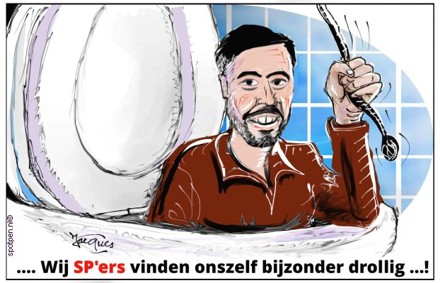 Socialistische Partij SP cartoon