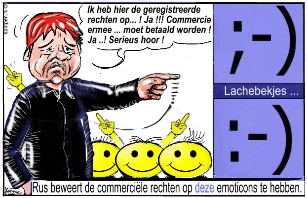 Smiley , lachebekken cartoon