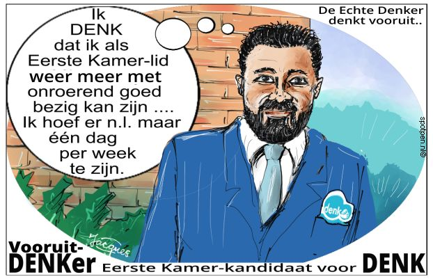 Denk cartoon