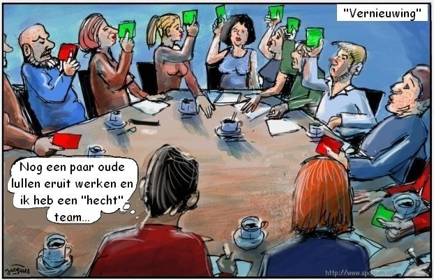 Teambuilding  cartoon
