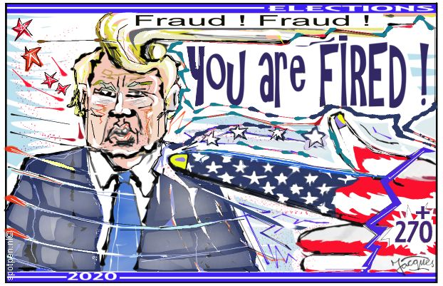 you are fired cartoon