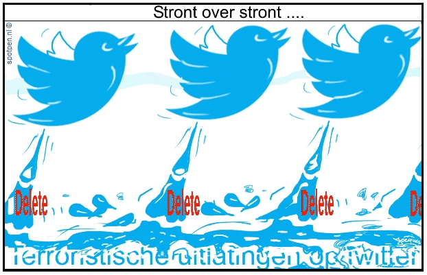 Twitter cartoon Tweets terrorisme