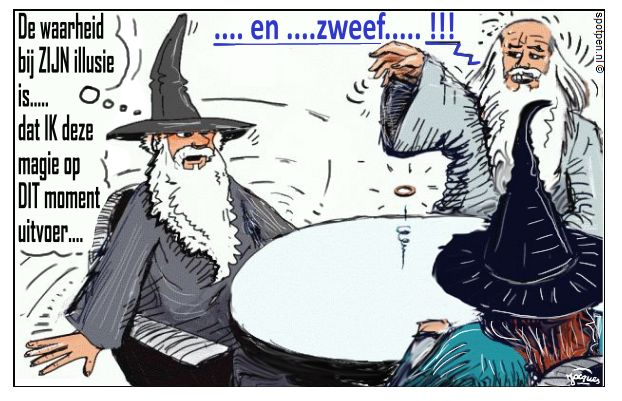 Cartoon  tovenaars wizards  Tolkien