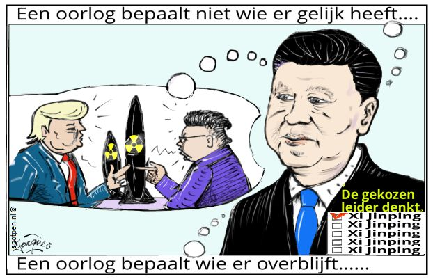 president leider China Xi Jinping   cartoon